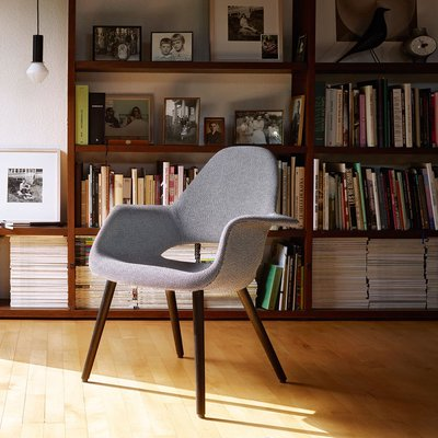 Organic lounge chair van Vitra