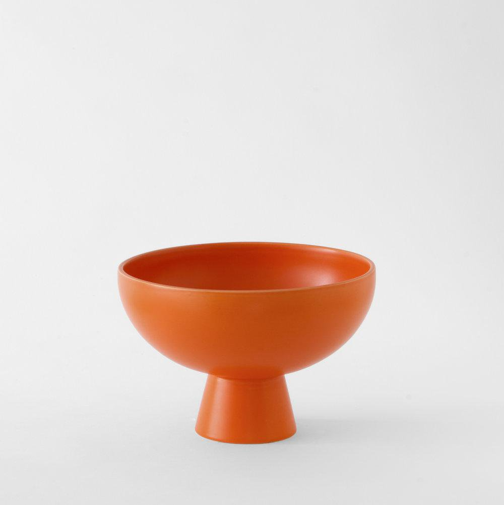Raawii Strøm Bowl Large Orange Schaal Groot Oranje